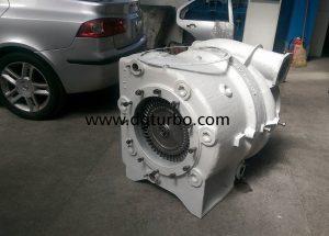 D.G. турбо сервиз ремонтира турбокомпресори за локомотиви; ремонт на турбокомпресор за ллокомотив